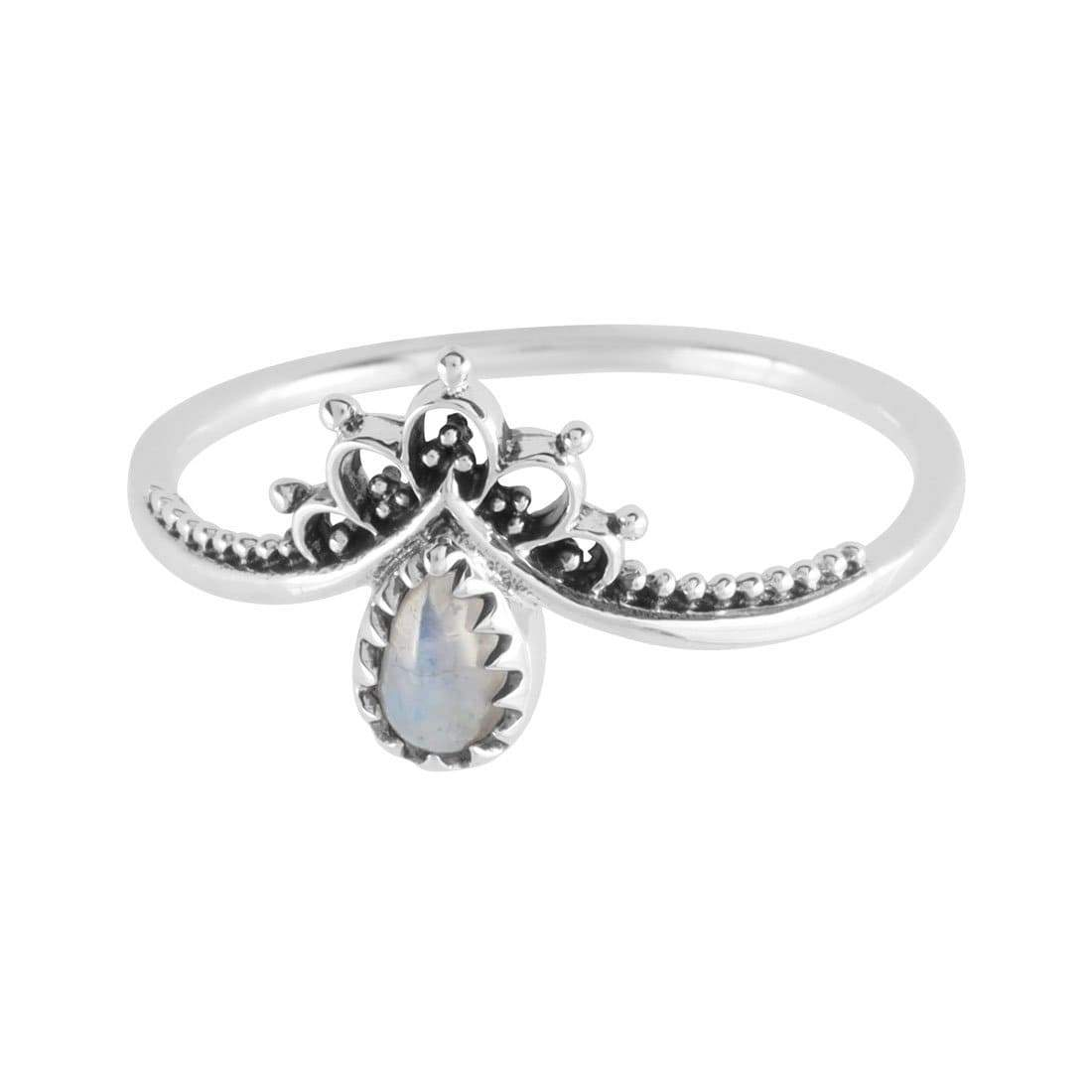 Midsummer Star Ring Sublime Moonstone Ring