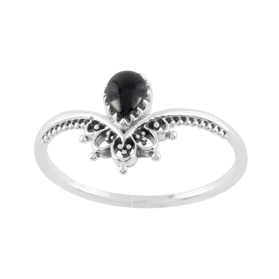 Midsummer Star Ring Sublime Onyx Ring