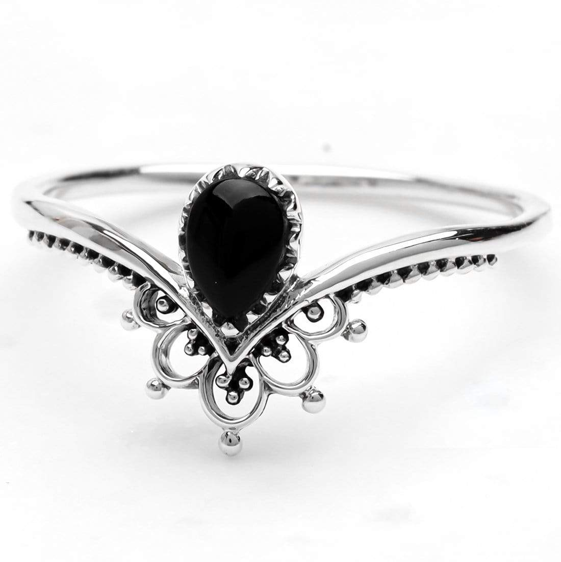 Midsummer Star Ring Sublime Onyx Ring Set
