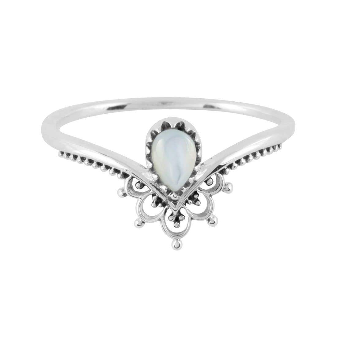 Midsummer Star Ring Sublime Pearl Ring
