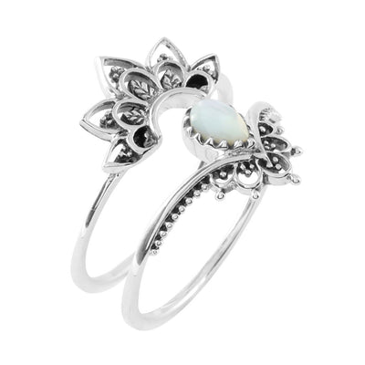 Midsummer Star Ring Sublime Shell Ring Set