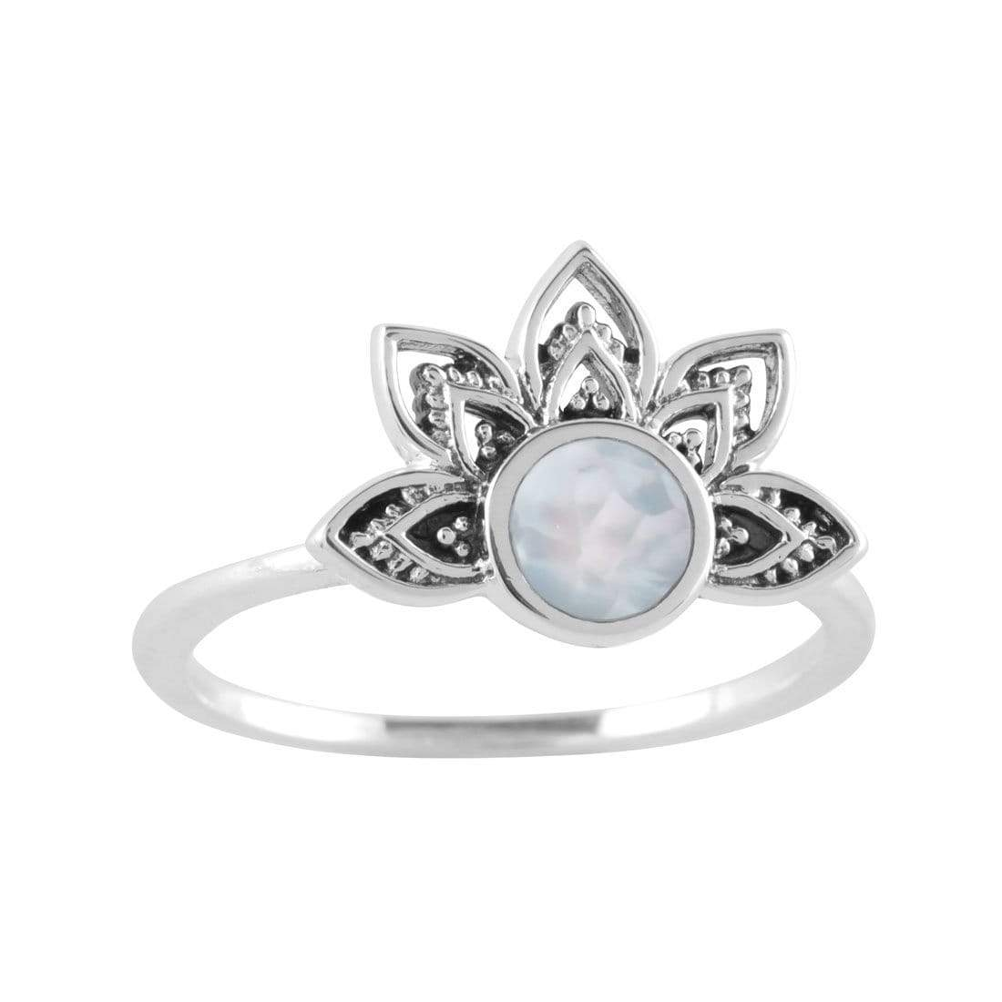 Midsummer Star Ring Venus Rising Pearl Ring