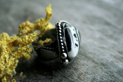 Headed West White Buffalo Turquoise  Andewyn Designs- Andewyn Designs