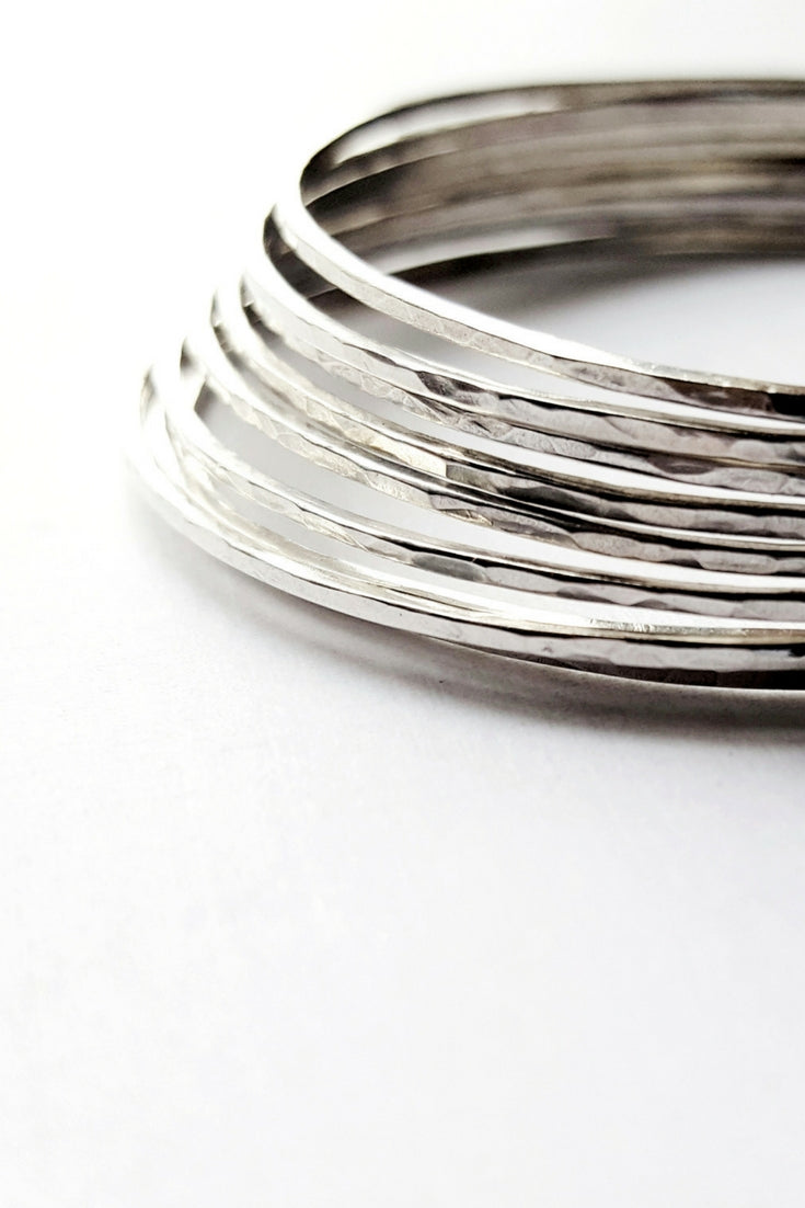 snake quick sterling silver bangle a and design lock bracelet eye plain view bangles hook oxidized