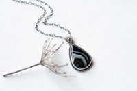 Rhapsody In Midnight Teardrop Necklace