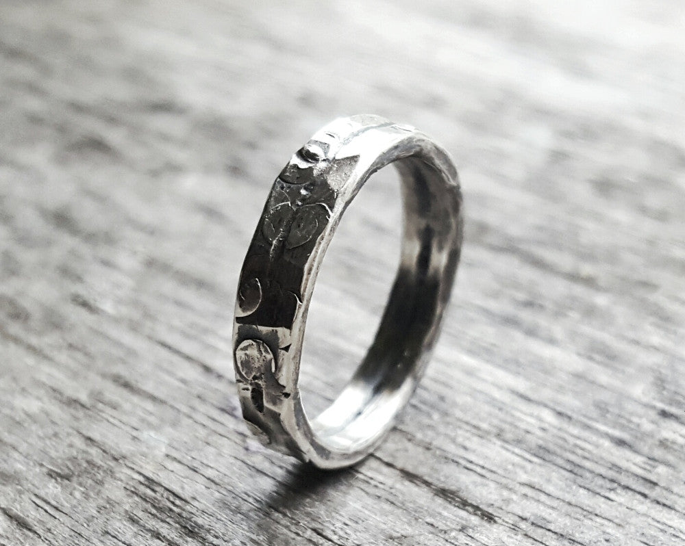 Canyon Road Handmade Sterling Silver Ring Band - Andewyn Designs