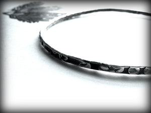 Canyon Road | Sterling Silver Handmade Bangle Bracelet - Andewyn Designs