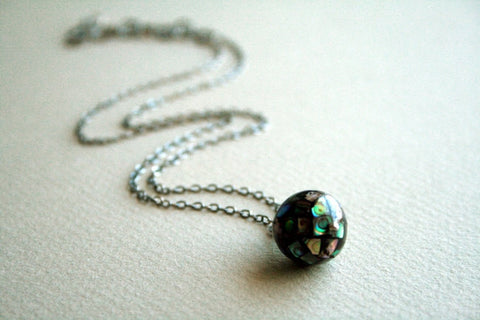 Terra Necklace | Abalone Shell