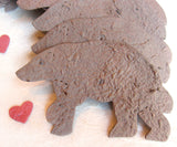 plantable paper brown bear