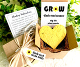 Black-Eyed Susan Seed Starting  Kit with Plantable Paper and Pot