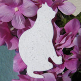 Recycled Ideas Favors plantable paper cat with catnip seeds