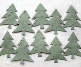 Recycled Ideas Favors plantable paper Christmas trees