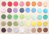 Recycled Ideas Favors plantable seed paper color chart