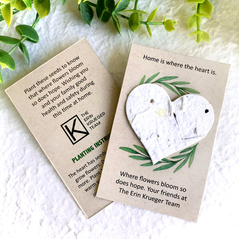 8+ Customizable Flower Seed Paper Memorial Cards - Eco Friendly Sustainable