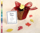 Recycled Ideas Favors example card
