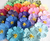 Anemone Seed Paper Flowers - Dimensional layered flowers