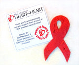 Recycled Ideas Favors plantable paper HIV/AIDS support ribbons