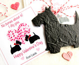 Scottie dogs Valentines plantable