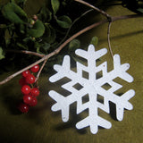 Recycled Ideas Favors plantable paper snowflake