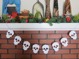 10 Seed Paper Skulls - Day of the Dead - Dia de los Muertos
