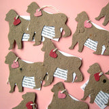 Recycled Ideas Favors plantable seed paper gorillas