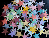 Recycled Ideas Favors plantable paper rainbow color stars