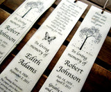plantable paper memorial bookmarks
