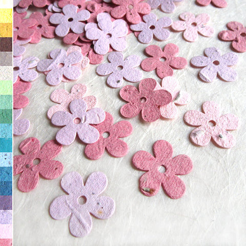 pink plantable daisies recycledideas paper