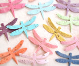 Recycled Ideas Favors plantable paper dragonflies