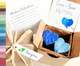 Recycled Ideas Favors gift box, pot and plantable paper hearts with cards