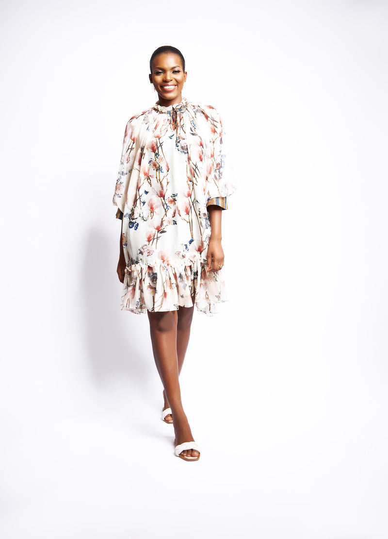 BAMBI SHIFT DRESS - FLORAL
