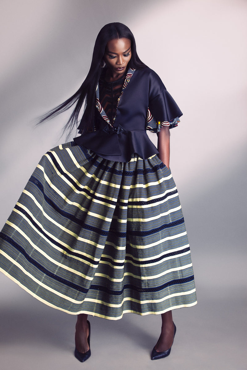 FULL BATAKARI SKIRT
