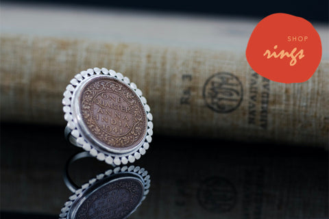 Handcrafted sterling silver rings by Lai