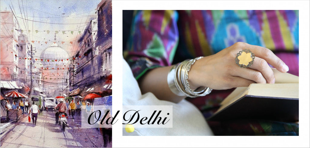 Old Delhi: contemporary silver jewellery collection