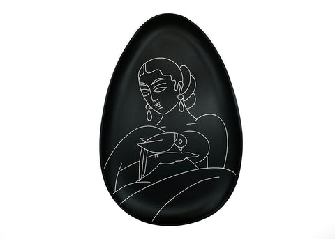 Nayika decorative plate