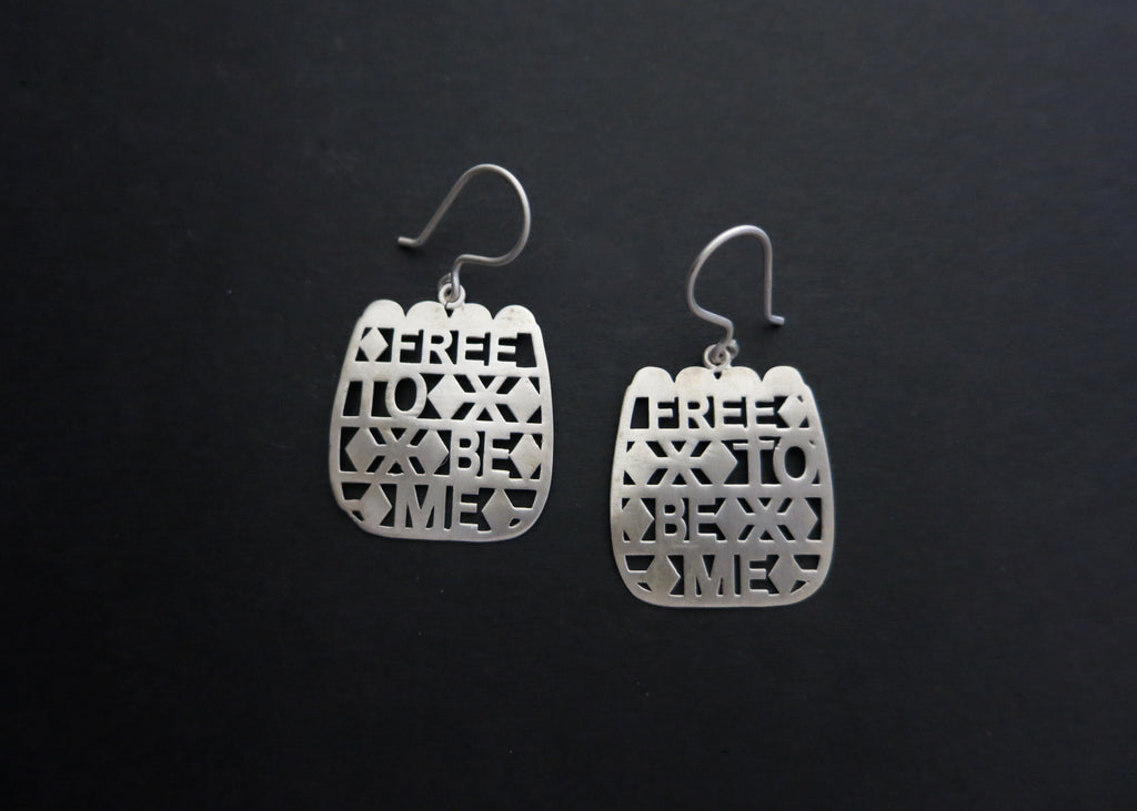 Free To Be Me (PB-10786-ER)  Earrings Lai designer sterling silver 925 jewelry that is global culture inspired artisanal handcrafted handmade contemporary sustainable conscious fair trade online brand shop