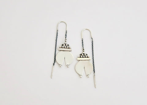 Chic 'Naughara' threader earrings (PB-11082-ER)