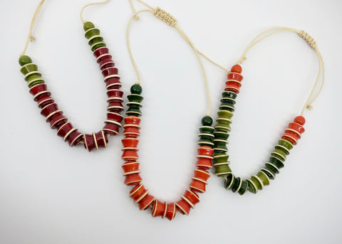 The Accordion Necklace (available in 3 different colours)