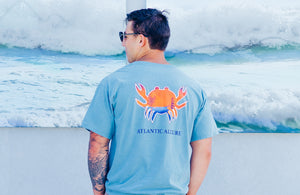Pocketed Paradise Crab Short-Sleeve