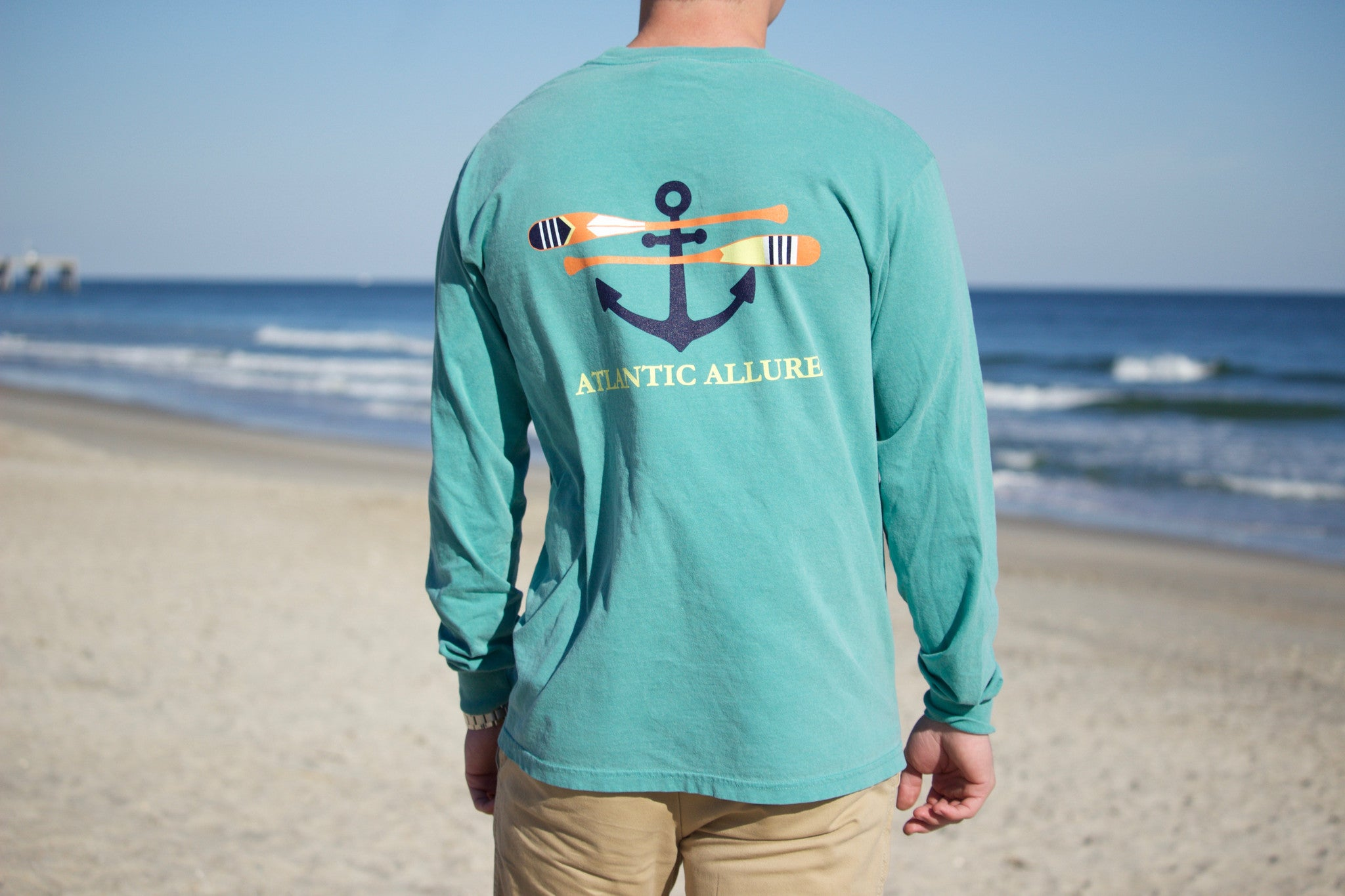 Pocketed Original Oars Long-Sleeve