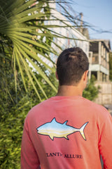 Pocketed Beach Fish Long-Sleeve