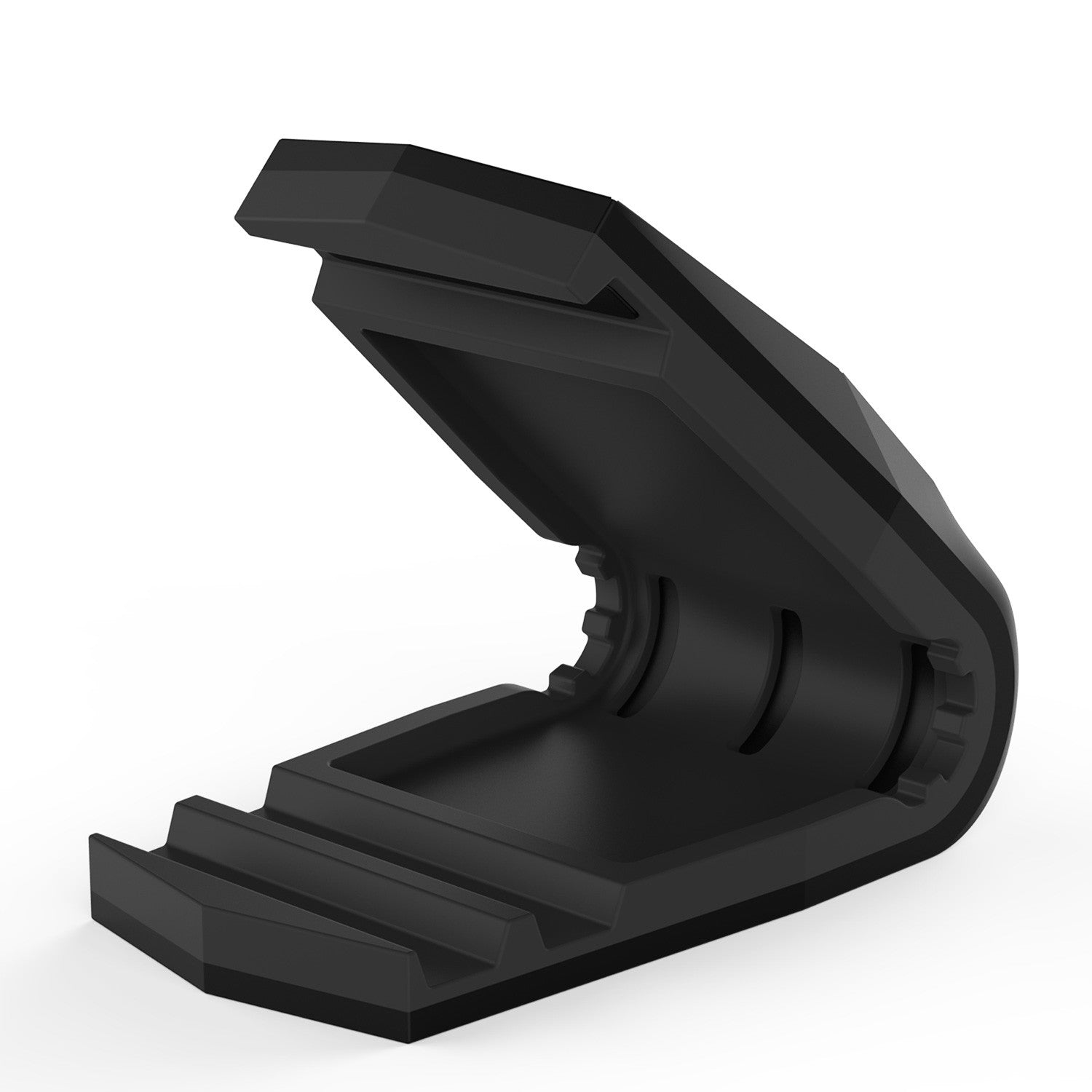 PUNKCASE Viper Car Phone Holder Black, Universal Dashboard Mount for all Smartphones, Low Profile & Sleek Design, One Hand Operation