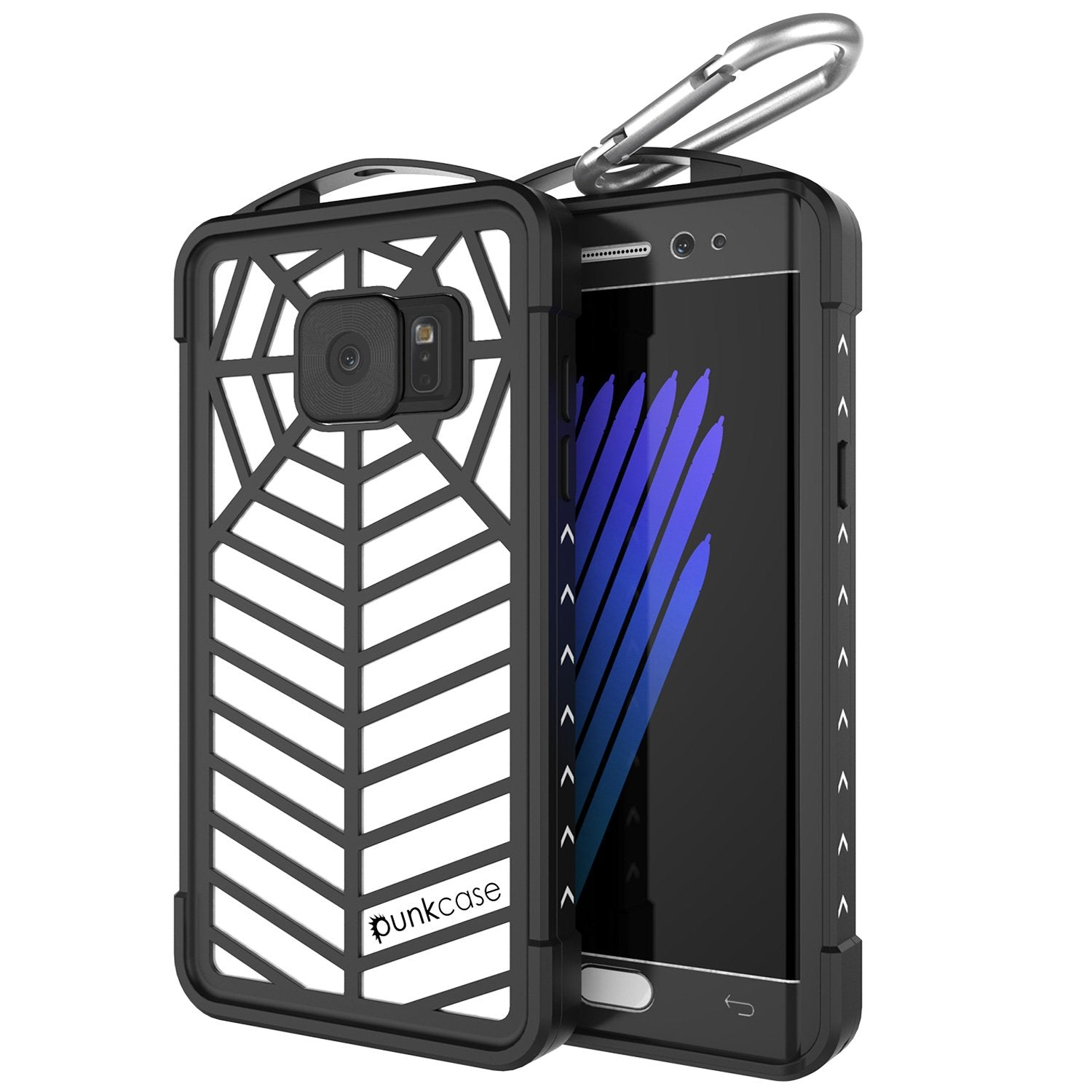 Galaxy Note FE Waterproof Case, Punkcase WEBSTER Series, Transparent | Heavy Duty Armor Cover