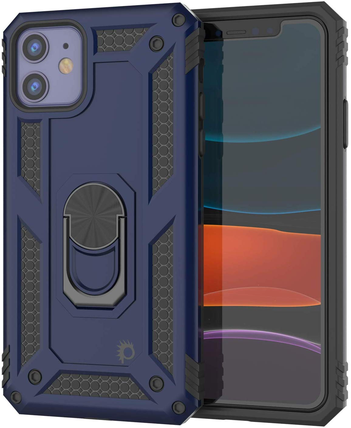 Apple iPhone 11  Punkcase Armor Military Case Navy-Blue