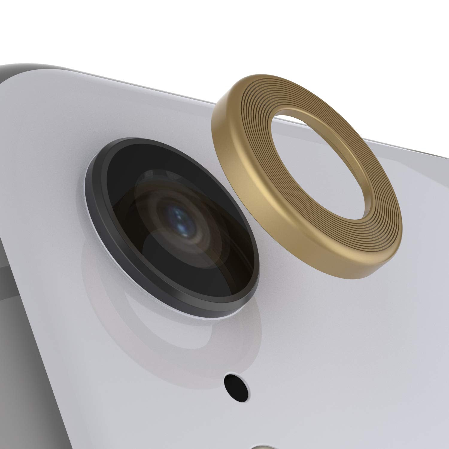 Punkcase iPhone XR Camera Protector Ring [Gold]