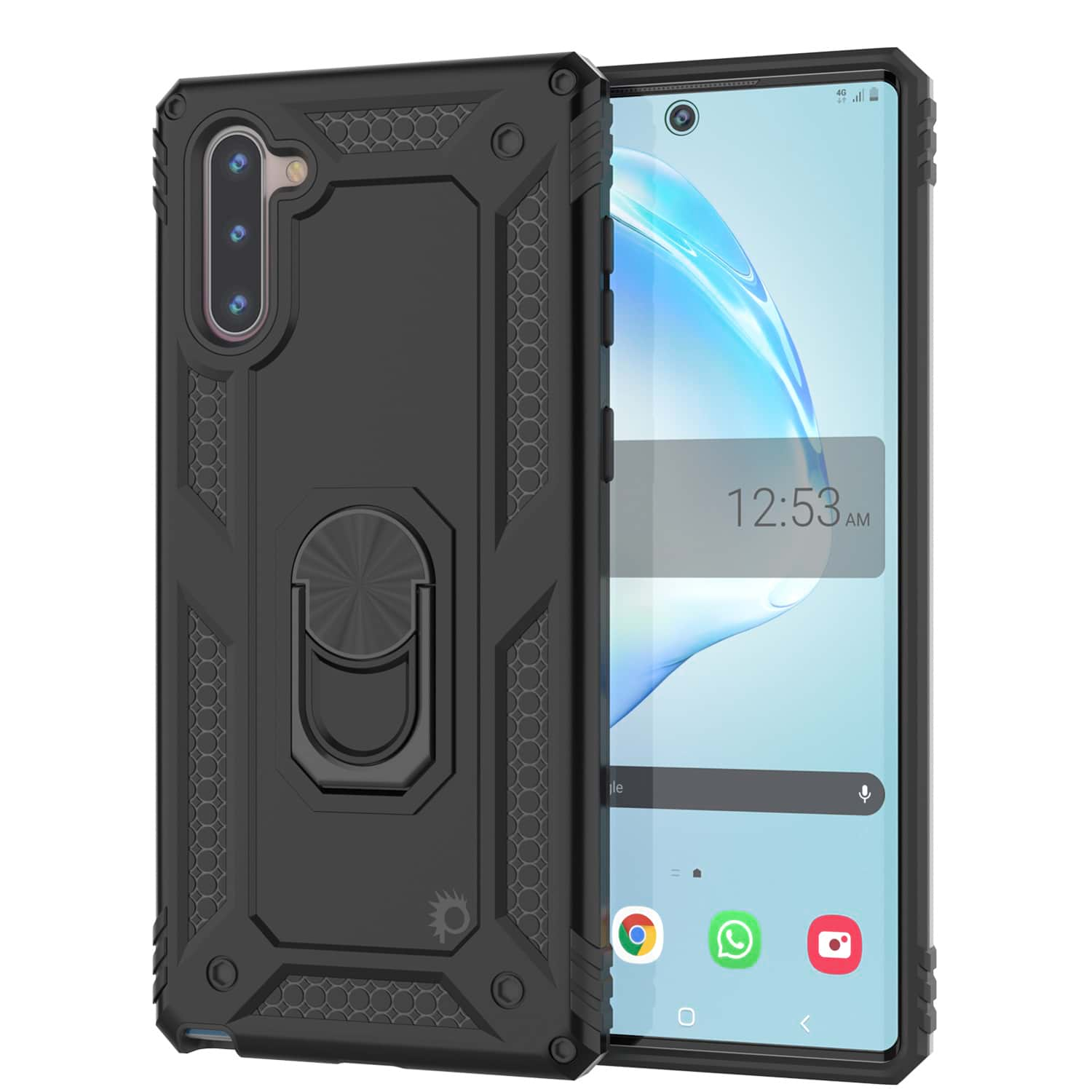 Galaxy Note 10 Punkcase Armor Military Case Black