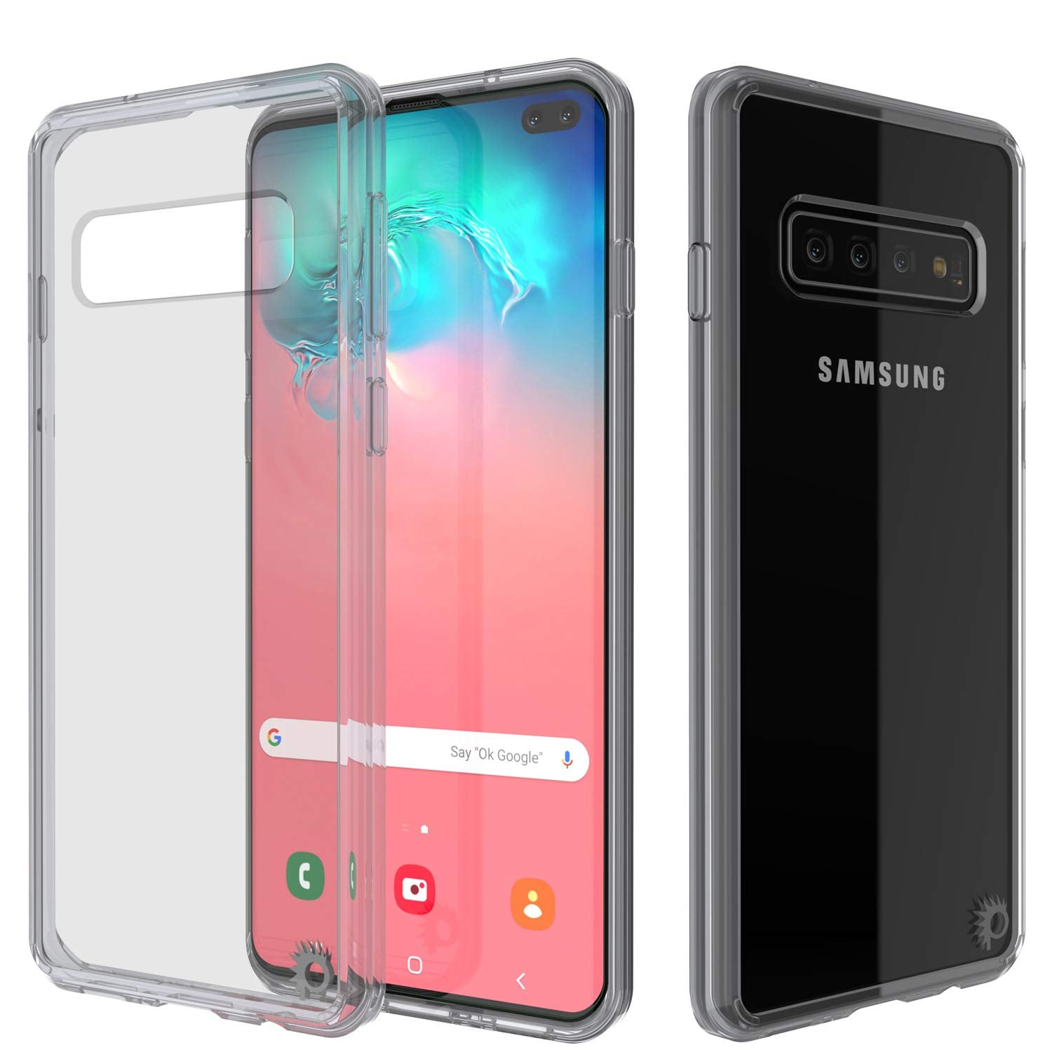 S10+ Plus Case Punkcase® LUCID 2.0 Clear Series w/ PUNK SHIELD Screen Protector | Ultra Fit