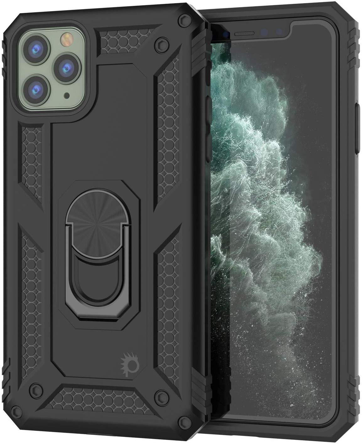 Apple iPhone 11 Pro Max Punkcase Armor Military Case Black