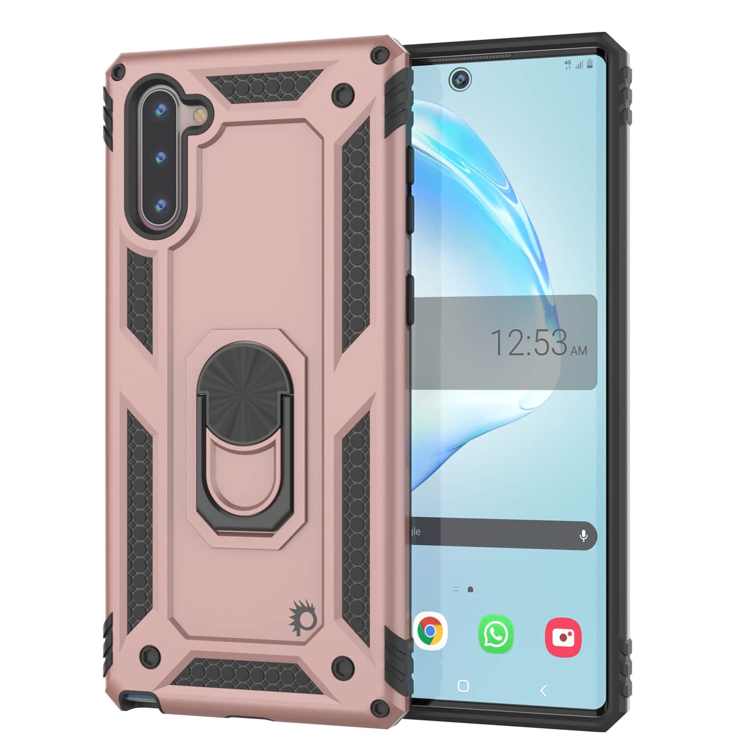 Galaxy Note 10 Punkcase Armor Military Case Rose-Gold