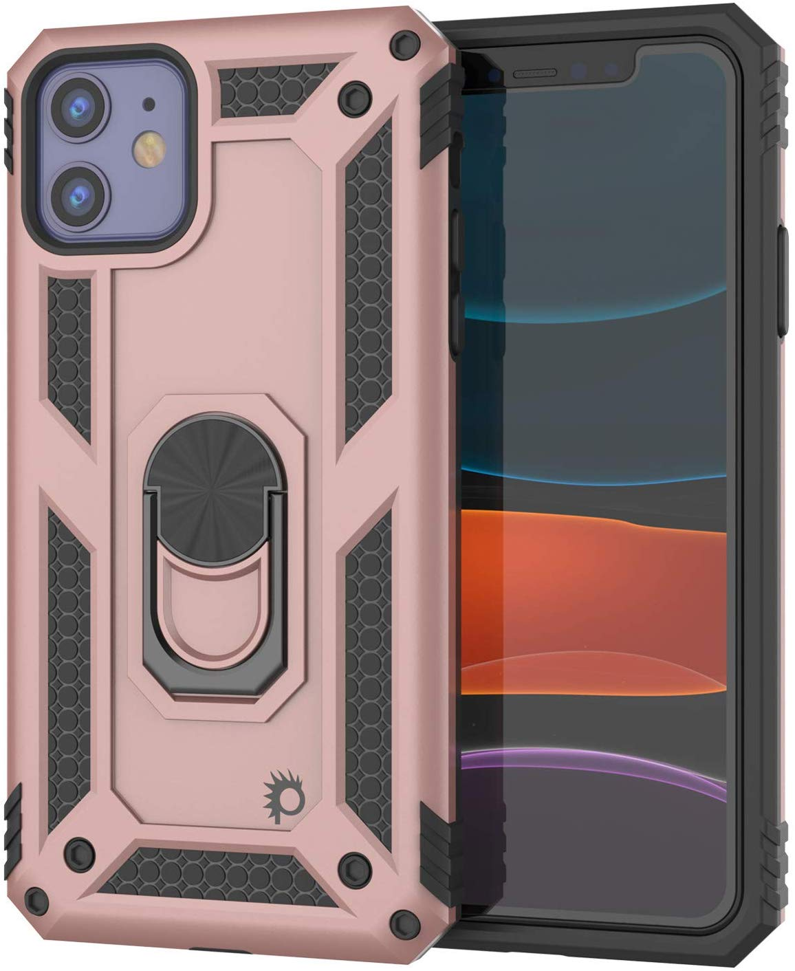 Apple iPhone 11  Punkcase Armor Military Case Rose-Gold